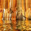 The best way to see the colorful cliffs at Pictured Rocks National Lakeshore is from a kayak. Getting up close to these colorful towering cliffs is an experience you will never forget.