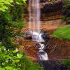Munising Falls in June 1:3 aspect Ratio 8x24 12x36 16x48