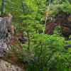 Hidden Falls near Marquette Michigan